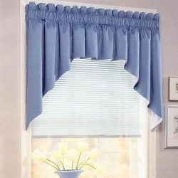 Cotton Duck Curtain Top Treatments