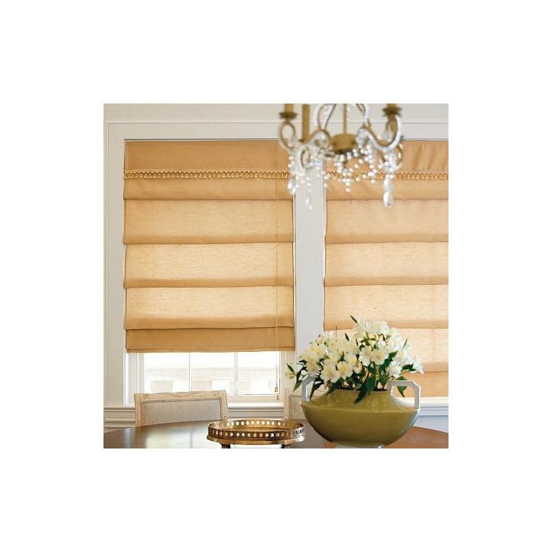Custom Fabric Waterfall Roman Shade Curtain Drapery Com