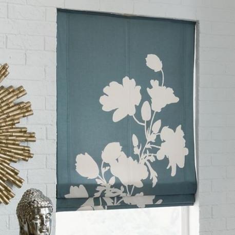 Tribeca Floral Roman Shade Curtain Drapery Com